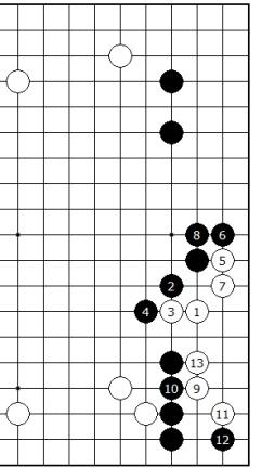 Diagram 2 - Old Joseki