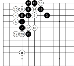 Diagram 9 - White not bad