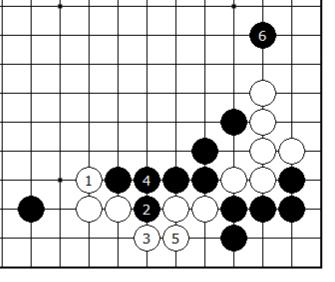 Diagram 6 - is Black alive?