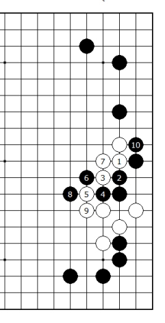 Diagram 13 - White not good