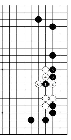 Diagram 13 - Black lost
