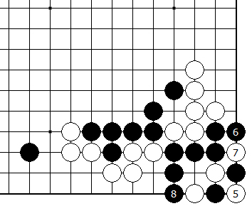Diagram 8 - Black Ko alive