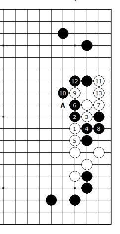 Diagram 17 - Black cannot win