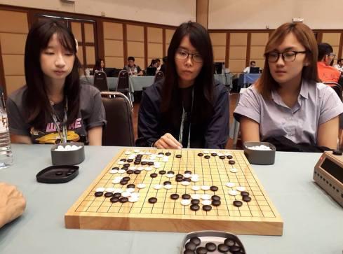 left- Ho Li Ting, Mid- Eileen Goh Right-Chai Hui